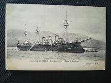 CPA LE CECILLE - Croiseur de 1ère Classe à Batterie