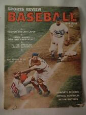 1956 SPORTS REVIEW BASEBALL ISSUE