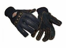 Women Harley Davidson Riding Gloves ~ Cut Resistant ~ Leather Palms ~ Free Ship