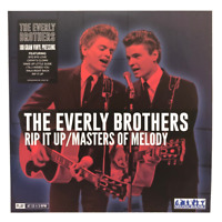 The Everly Brothers Rip It Up Masters Of Melody LP Vinyl NEW Alpha