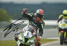 Tom Sykes Hand Signed Kawasaki Racing 2014 12x8 Photo WSBK 1.