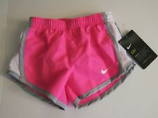 Nike Girl's 3T Toddler Shorts Short Pants Summer Soccer  Pink Pow Gray White