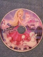 Barbie: A Fashion Fairytale (2010 DVD)  DISC ONLY. Diana Kaarina, Adrian Petriw