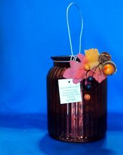 mercury glass jar holidays Thanksgiving New