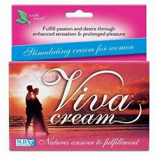 Viva Cream Clitoral Stimulating 3 Pack Orgasm Enhancement Clit Stimulator 30ML