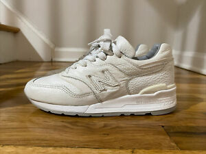 New Balance 997 M997BSN Bison White Size 7 Made in USA. New Balance Sneakers