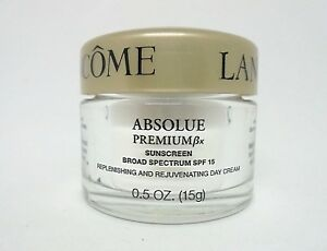 Lancome Absolue Premium Bx  Sunscreen Spf 15 ~ .5 oz / 15 g ( Read Description )