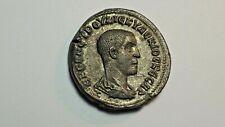 Herennius Etruscus , Tetradrachme, Antioche, Billon, TTB