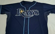 Tampa Bay Rays GAME USED JERSEY Brandon Gomes Baseball MLB AUTHENTIC Hologram
