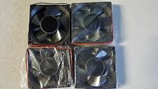 AROMAT 12V 125 mA  DC BRUSHLESS FAN AIF80 ( Lots of 4 )