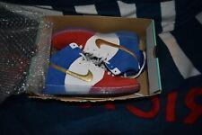 NEW Nike Dunk High Premium SB 313171-674 USA Olympic France  RARE Size 10.5