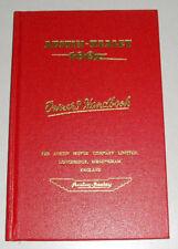 Betriebsanleitung Handbuch Austin Healey 100, Stand 1955
