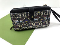 Sakroots Smartphone Wristlet Crossbody Wallet One World Multi Large Phone NWT A
