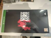 generation zero collector's collectors edition collector xbox one neuf