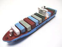 Schiff Modell Containerschiff Emma Maersk Line,11,5 cm Poly NEU