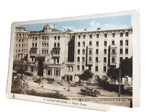 Constantine.  Hotel Cirta   Algeria. Lovely Vintage Colour Postcard