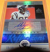 ANTONIO GATES - 2005 Upper Deck REFLECTIONS SSP Autograph #SR-AT Chargers 15/15