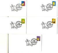 Sobres Sellos Estados Unidos USA Simpsons 2009 envelope