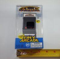*NEW* Super Impulse Tiny Arcade Galaxian Mini Handheld Retro Game w/ Keychain
