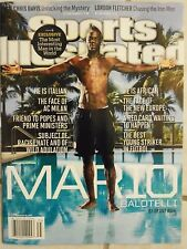 August 26, 2013 Mario Balotelli ITALY AC Milan Sports Illustrated NO LABEL A
