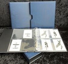 Post Card & Photo Album Guardian Type [Blue with slip case] A4 size
