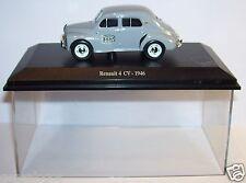 NOREV RENAULT 4CV 4 CV 1946 POSTES CENTRO DE CONTROL PTT box 1/43 plexiglás box
