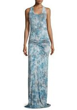 Young Fabulous & Broke Hamptons Women's Blue Jersey Maxi Dress S