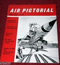 Air Pictorial 1960 April Bf109,Garland Linnet,XP-77,Scimitar,British Aerial