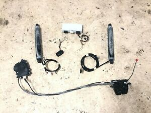 BMW OEM F10 5 M Ser Automatic Close Soft Close Tailgate Boot Trunk Lid Set
