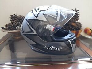 KBC VR2R Motorcycle brand new  Helmet Full Face Racing  Was £179.99  size m
