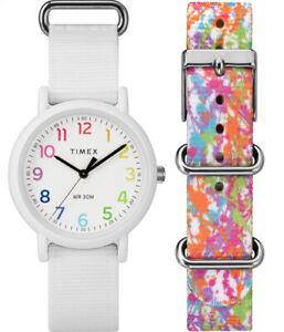 Timex Unisex Quartz Fashion Watch TWG018200 with 2 straps