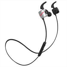 Bluedio TE (Turbine) Auriculares Deportivos Bluetooth Inalámbrico negro-plateado