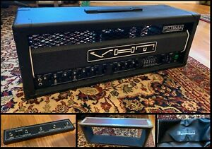VERY RARE Pre-FRYETTE VHT PITTBULL ULTRA LEAD AMP in A++ Condition — FULL KIT!