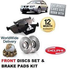 Para Rover Mg Zt mgzt 1.8 Turbo 2003-2005 Frontal discos de freno de conjunto y almohadillas de Disco Kit