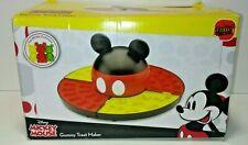 Disney Mickey Mouse Gummy Treat Maker 4 Mickey Shaped Molds