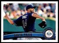 2011 Topps David Price Tampa Bay Rays #61