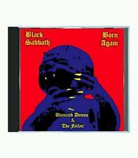 BLACK SABBATH - THE BORN AGAIN SESSIONS UNMIXED + 4 LIVE CD