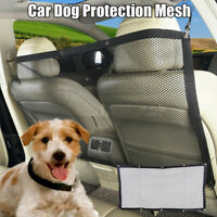 Adjustable Dogs Cat Safety Dog Car Carrier Rear Seat Pet Fence Anti-collision