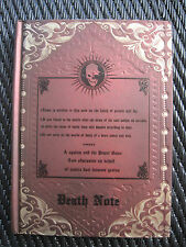 Death Note Anime / Manga Hard Cover Notebook / Diary
