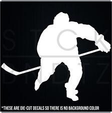 HOCKEY PLAYER ICE NHL USA CUTE FUNNY DECAL STICKER MACBOOK CAR WINDOW MOTORCYCLE