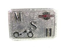 Deco MSH Harley Davidson Motorcycles Belt Buckle By HOOK FAST 52416