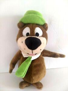 "Yogi Bear Plush 1999 Warner Bros Studio Store Hanna Barbara 8"""