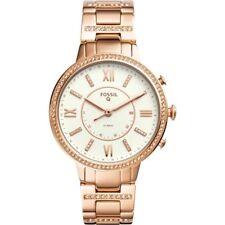 Fossil Q Virginia Hybrid Smart Watch FTW5010 Rose Gold Originally