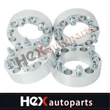 4 Wheel Spacers 6x5.5 to 6x135mm Adapters 1.5'' 78mm For Chevy GMC Ford 6 Lug