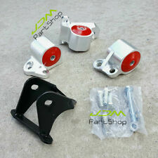 Billet Aluminum Motor Mount Kit For Honda Civic B&D-Series B16 B17 B20 D15 D16Y5