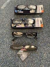 Foster Grant Posh Coloread Women's Reading Glasses New +2.50 Lot Of 3 Plus Extra