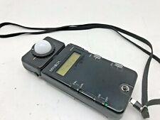 Minolta Flashmeter 3 ambient and studio professional flash meter