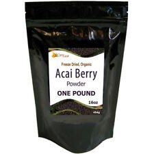 Organic ACAI Berry Powder Freeze Dried Non GMO Kosher ~ 908 Servings 16oz Pound
