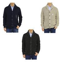 Polo Ralph Lauren Heavy Shawl Cardigan Sweater -- 3 colors --