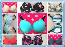 Victoria's Secret PINK wear everywhere 36 D PUSH UP BRA U pick up color NEW